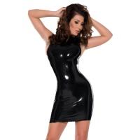 anita berg 4786 mini robe en latex - robe courtes en latex fetish