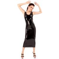 anita berg AB4064 robe de cocktail fetish - longue robe en latex