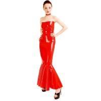anita berg AB4236Z robe de cocktail fetish - longue robe en latex