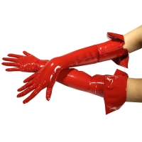 ledapol 1062 gants en vinyle - gants en verni fetish