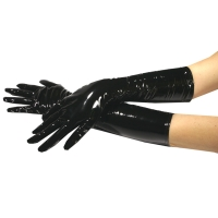 ledapol 1082 gants en vinyle - gants en verni fetish