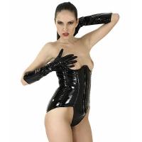 ledapol 1102 corsets en vinyle - corsets en verni fetish