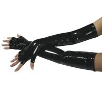 ledapol 1257 gants en vinyle - gants en verni fetish