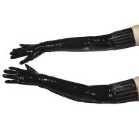 ledapol 1408 gants en vinyle - gants en verni fetish