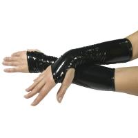 ledapol 1479 gants en vinyle - gants en verni fetish