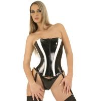 ledapol 1678 corsets en vinyle - corsets en verni fetish