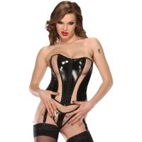 ledapol 1693 corsets en vinyle - corsets en verni fetish