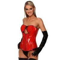 ledapol 1718 corsets en vinyle - corsets en verni fetish