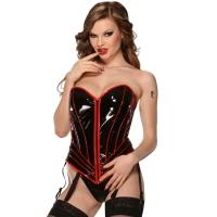 ledapol 1719 corsets en vinyle - corsets en verni fetish