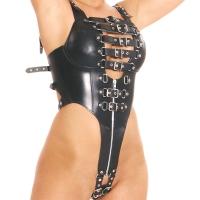 ledapol 5274 body harnais en cuir femme