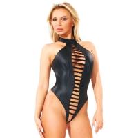 ledapol 5331 body en cuir - body femme