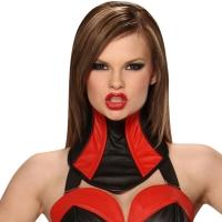 ledapol 5499-SR corset du cou en cuir femme