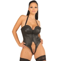 ledapol 5515 body en cuir - body femme
