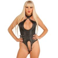 ledapol 5541 body en cuir - body femme