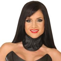 ledapol 5575 corset du cou en cuir femme