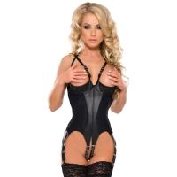 ledapol 5800 body en cuir - body femme