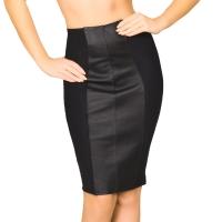ledapol 5801 minijupe en cuir - minijupe femme