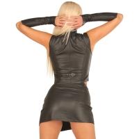 ledapol 888 gilet en cuir - gilet femme