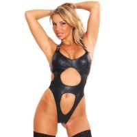 ledapol 941 body en cuir - body femme