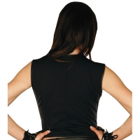 ledapol 971 gilet en cuir - gilet femme